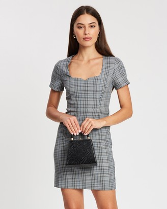 Atmos & Here Siena Checked Dress