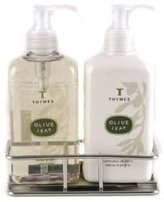 Thymes Sink Set, Olive Leaf, 8.25-Ounce Bottle