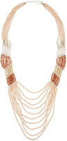 Nakamol Long Multi-Strand Pastel Crystal & Stone Necklace.