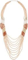Nakamol Long Multi-Strand Pastel Crystal & Stone Necklace.