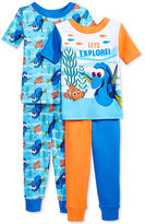 Disney 4-Pc. Finding Dory Cotton Pajama Set, Toddler Boys (2T-5T)