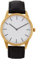 Uniform Wares C35 Gold Pvd-plated Watch