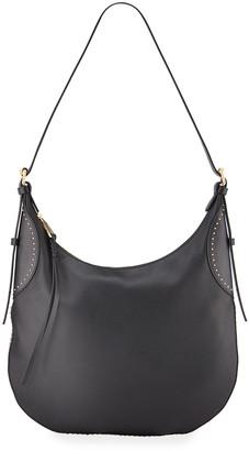 Rebecca Minkoff Pippa Studded Leather Hobo Bag