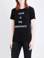 Prabal Gurung Love is the resistance jersey T-shirt
