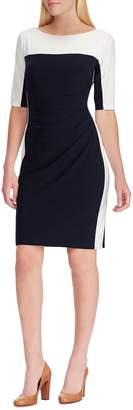Chaps colourblock Sheath Dress