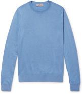 Canali - Cashmere And Silk-blend Sweater