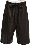 J.W.Anderson Paper Leather Short