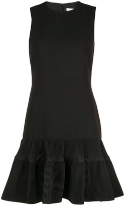 Victoria Victoria Beckham Fitted Peplum Dress