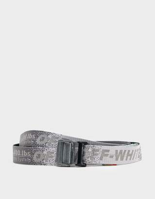 Off-White Off White Industrial Belt in Medium Grey