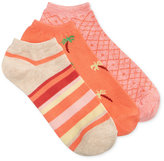 Charter Club Women's 3-Pk. Palm Tree Fashion Socks, Created for Macy's