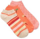 Charter Club Women's 3-Pk. Palm Tree Fashion Socks, Only at Macy's