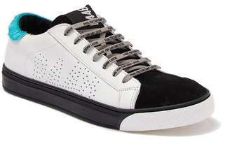 P448 Miami J Genuine Calf Hair Trimmed Sneaker