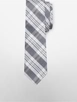 Calvin Klein Steel Sunset Plaid Tie