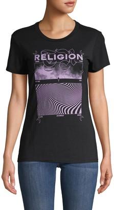 True Religion Sound Wave Graphic T-Shirt
