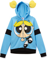 Jerry Leigh Blue Bubbles Zip-Up Hoodie - Girls