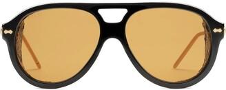 Gucci Aviator-Frame Sunglasses