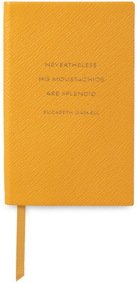 Smythson Panama Printed Textured-leather Notebook