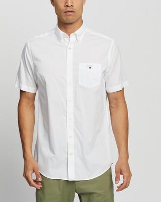 Gant The Broadcloth Regular SS Shirt