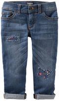 Osh Kosh Rip-&-Repair Girlfriend Jeans - Southampton Wash