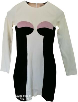 DANIELE CARLOTTA Black Velvet Dress for Women