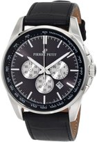 Pierre Petit Men's Serie Le Mans leather band watch.