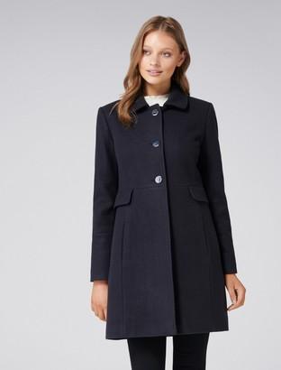 Forever New Ellie Dolly Coat - Navy - 4