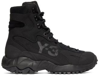 Y-3 Black Notoma Boots