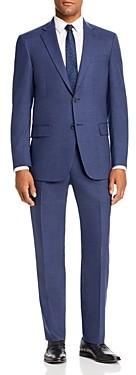 Hart Schaffner Marx Textured Solid Classic Fit Suit