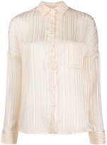 Semi-Couture Semicouture lightweight ribbed shirt