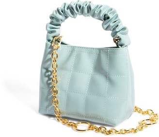House of Want H.O.W. We Brunch Mini Tote In Ice Blue