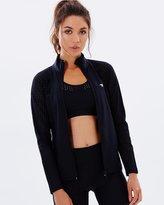 Running Bare League Of Her Own Cardio Zip Jacket