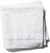 Peacock Alley Park Avenue Bath Towel, White