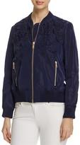 MICHAEL Michael Kors Embroidered Bomber Jacket