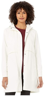 Cupcakes And Cashmere Kiernan Water Resistant Jacket w/ Detachable Hood (Oatmeal) Women's Clothing