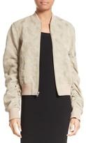 A.L.C. Women's Andrew Brocade Bomber Jacket