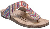 Sam & Libby Women's Global Comfort Footbed Thong Sandals