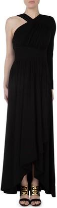 Givenchy Asymmetric Draped Gown
