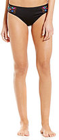Kenneth Cole Reaction Embroidered Mesh Hipster Bottom