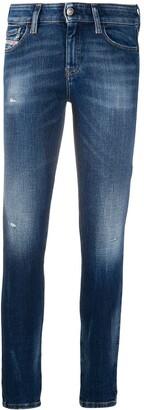 Diesel Slandy super-skinny jeans