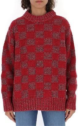 Marni Checked Crewneck Sweater