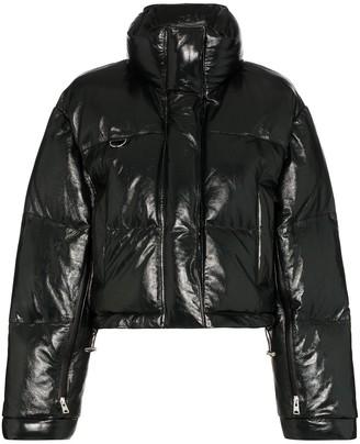 SHOREDITCH SKI CLUB Scala zip-front puffer jacket