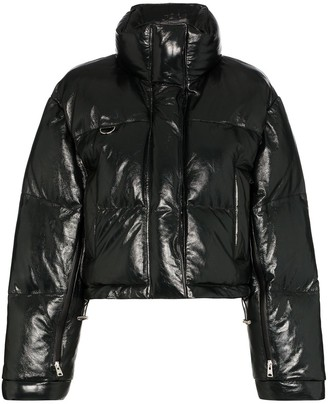 SHOREDITCH SKI CLUB Scala zip-front puffer jacket