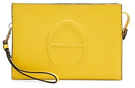 Etienne Aigner Adeline Small Leather Convertible Crossbody Wristlet