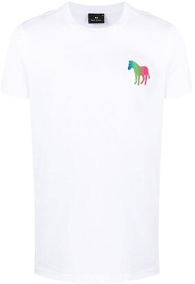 Paul Smith horse-print crew-neck T-shirt
