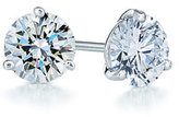 Kwiat Women's 0.33Ct Tw Diamond & Platinum Stud Earrings