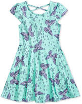 Epic Threads Butterfly-Print Skater Dress, Big Girls, Created for Macy's