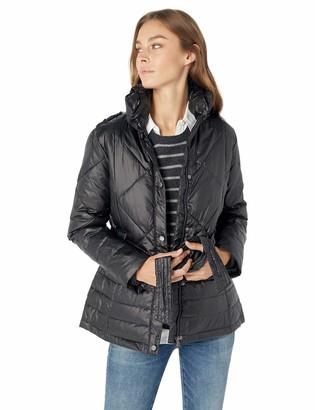 Big Chill Women's Belted Down Blend Puffer Jacket