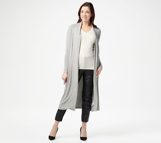 Lisa Rinna Collection Petite Open Front Duster Cardigan