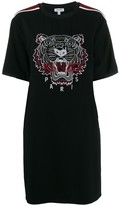 Kenzo tiger embroidered T-shirt dress
