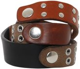 Maison Margiela Studded Leather Wrap Bracelet